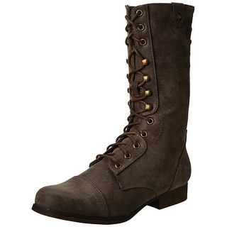 Madden Girl Women's Galeria Combat Boot