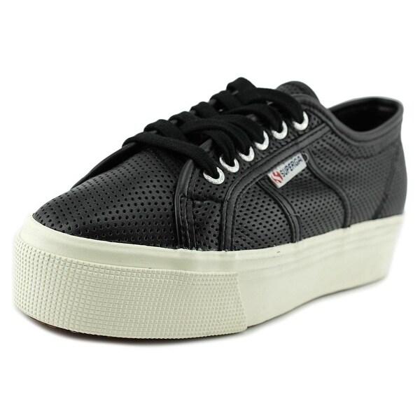 Superga 2790 Perfleaw Women Black Sneakers Shoes