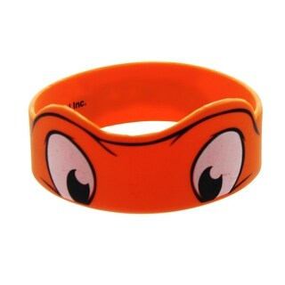 Teenage Mutant Ninja Turtles Michelangelo Orange Rubber Wristband