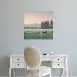 Easy Art Prints James Wiens's 'Farm Life V' Premium Canvas Art