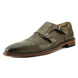 Giorgio Brutini Rapide Men  Round Toe Leather Gray Loafer