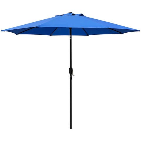 Maypex 9 Feet Crank and Tilt Market Umbrella