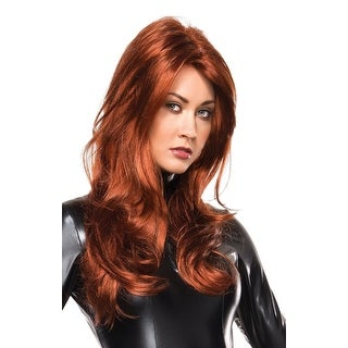 Marvel Black Widow Adult Costume Wig One Size