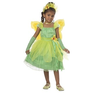 California Costumes Blossom Fairy Toddler Costume - Green - Large