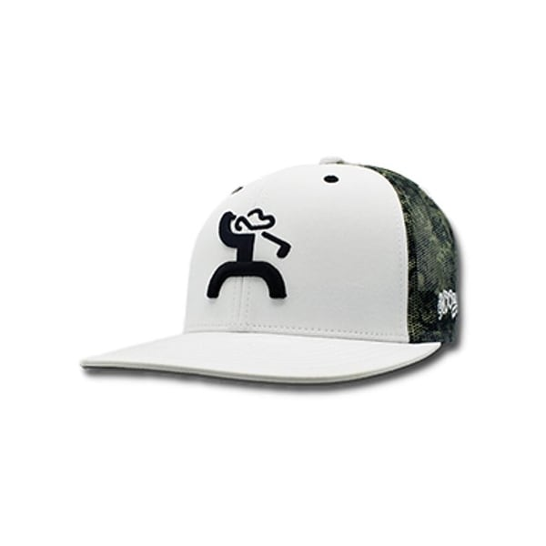 4183938da8eab ... coupon code shop hooey hat mens trucker golf o.b. snapback one size  white camo free shipping