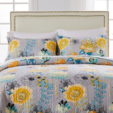 Greenland Home Fashions Watercolor Dream Pillow Sham Set