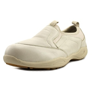 Propet Wash & Wear Pro Slip-On Men  Round Toe Leather Tan Sneakers