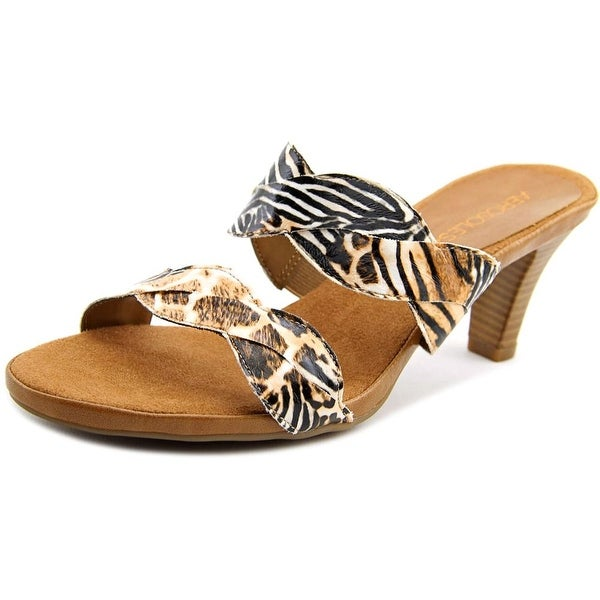 Aerosoles Power Thru Safari Print Sandals