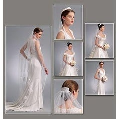 One Size Only - Headpieces; Tiara And Bridal Veils
