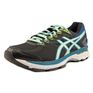 Asics GT-2000 4 Women D Round Toe Synthetic Black Sneakers