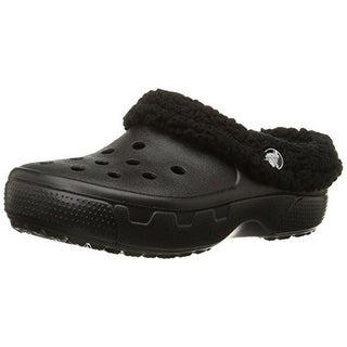 Crocs Boys Mammoth Clogs Faux Fur
