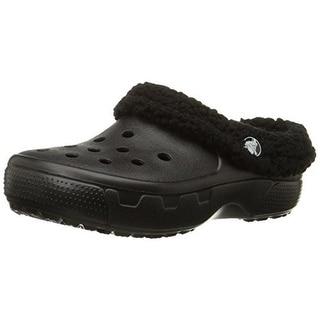Crocs Boys Faux Fur Clogs