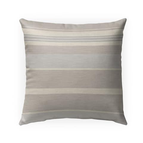 HUNTINGTON NATURAL Indoor-Outdoor Pillow By Kavka Designs