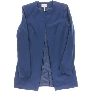 Laundry by Shelli Segal Womens Long Sleeves Solid Blazer