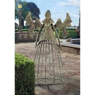 Design Toscano Tempest, the Metal Garden Trellis Fairy
