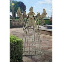Design Toscano Tempest, the Metal Garden Trellis Fairy
