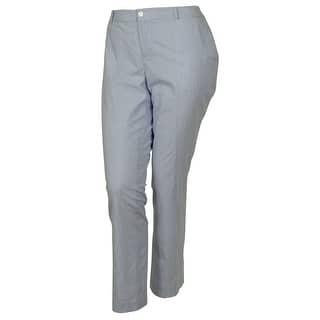 Lauren by Ralph Lauren Women's Edita Slim Leg Pants - Blue/White|https://ak1.ostkcdn.com/images/products/is/images/direct/a2455f84befcd3bda6212c478e61133f5b3afec8/Lauren-by-Ralph-Lauren-Women%27s-Edita-Slim-Leg-Pants.jpg?impolicy=medium