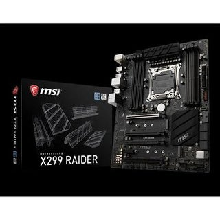 Msi X299 Raider Ddr4 Sli Atx Desktop Motherboard - X299 - Socket Lga-2066