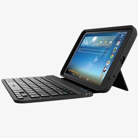 Zagg Keys Folio Case Bluetooth Keyboard for LG G Pad 8.3 LTE - Black