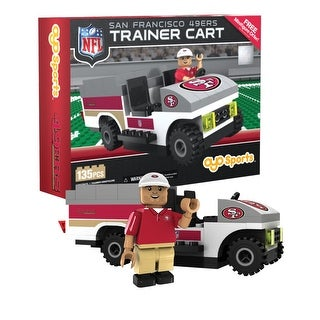 San Francisco 49ers NFL OYO Sports Mini Figure Trainer Cart - Multi