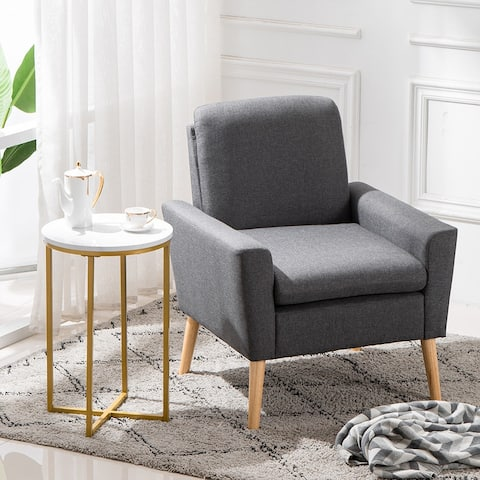 Modern Nightstand Living Room Round Side End Accent Coffee Table