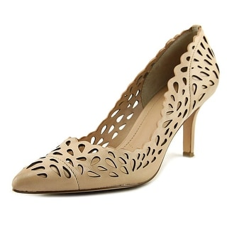 Charles By Charles David Sabrina Women  Pointed Toe Leather Nude Heels