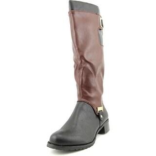 Bella Vita Anya II Plus Wide Calf Women WW Round Toe Multi Color Knee High Boot
