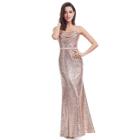 Ever-Pretty Women's Retro Sequin Evening Cocktail Dress 70872