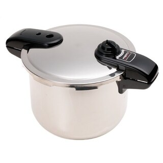 Presto 01370PRESTOM Presto 01370 8-Quart Stainless Steel Pressure Cooker