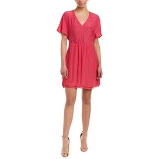 Link to Maje Elastic-Waist Shift Dress Similar Items in Dresses