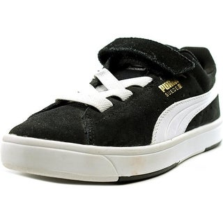 Puma Suede S V   Round Toe Suede  Sneakers
