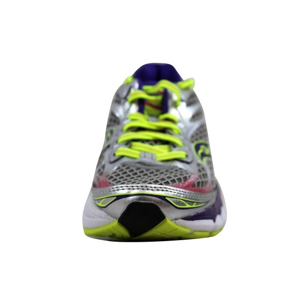 Shop Saucony Women's Ride 7 SilverPurple Citron S10241 2