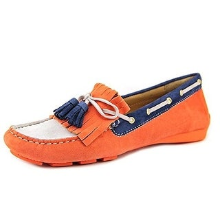 VANELi Womens Rugby Boat Shoes Suede Slip On