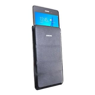 Samsung Galaxy Tab A SM-T350 8-Inch Tablet (16 GB, SMOKY Titanium) W/ Pouch (Refurbished)