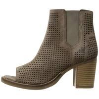 Bos. & Co. Womens brianna Peep Toe Ankle Fashion Boots - 10.5