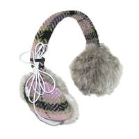 CTM® Women's Knit Headphone Earmuffs
