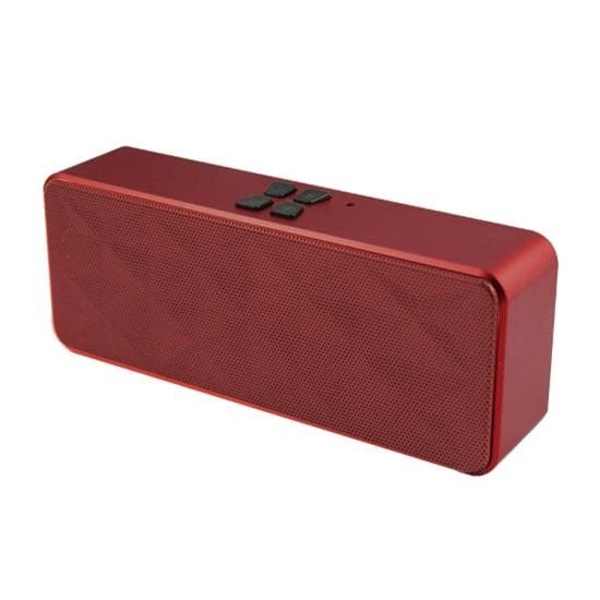 Portable Bluetooth Hi-Fi Stereo Speaker with Built-in Microphone and Speakerphone & AUX Input (Maroon)