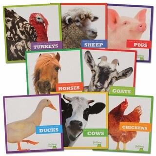 Animals on the Farm Books - Set of 8