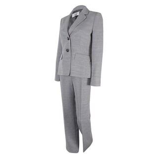 Le Suit Women's Two-Button Notched-Collar Pantsuit