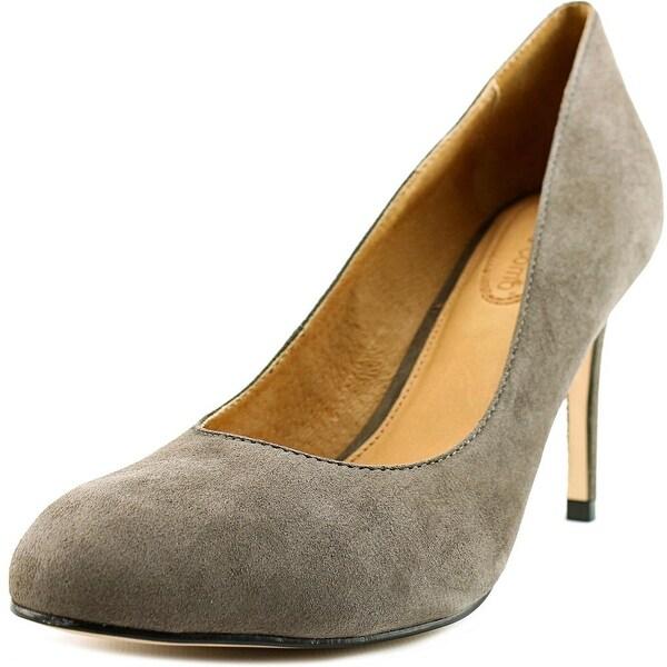 Corso Como Del - Pump Women Round Toe Suede Gray Heels