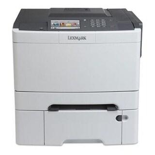 Lexmark Cs510dte 28E0100 Wireless Color Printer, Black/Grey