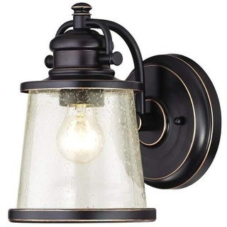 Westinghouse 6204000 Emma Jane Outdoor Wall Sconce with 1 Light with Clear Seede