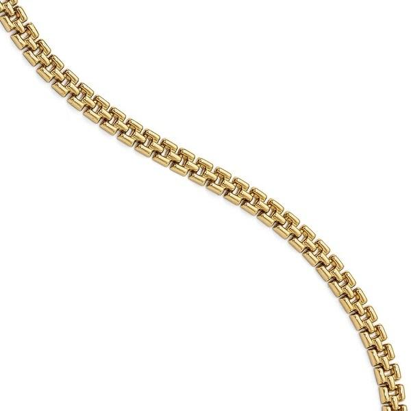 Italian 14k Gold Bracelet - 7.5 inches