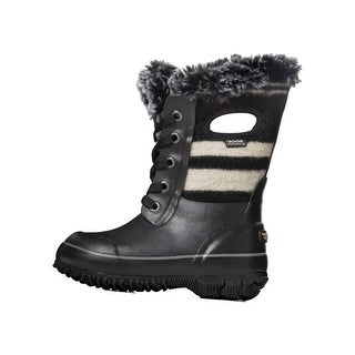 Bogs Outdoor Boots Boys Arcata Wool Stripe Waterproof Insulated 72140
