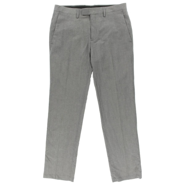Shop Kenneth Cole Mens Dress Pants Linen Blend Slim Fit Free