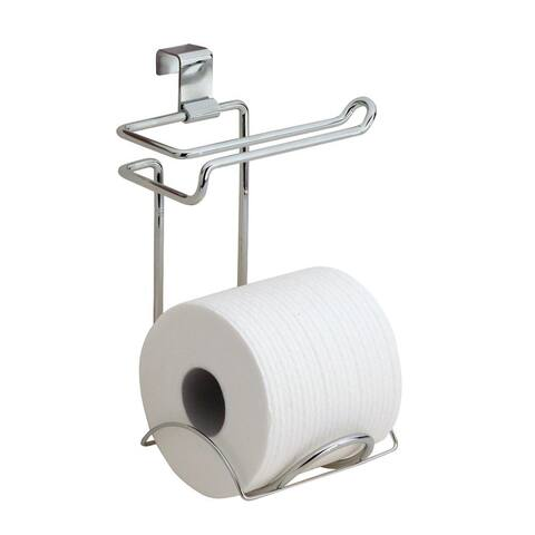 InterDesign 69030 Classico Over Toilet Tissue Holder, Chrome
