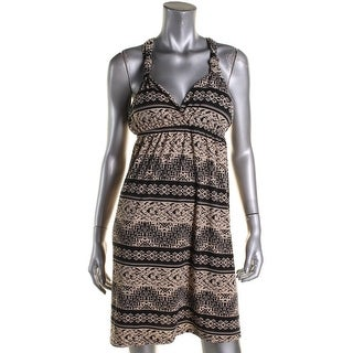 Hippie Rose Womens Juniors Casual Dress Knot Empire