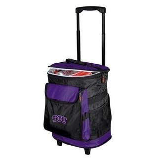 Logo Brands 215 57 Texas Christian Horned Frogs TCU Rolling Cooler