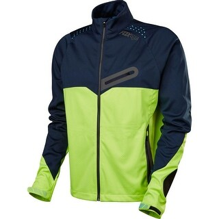 Fox Racing Bionic Softshell Jacket - Navy/Yellow - 16679