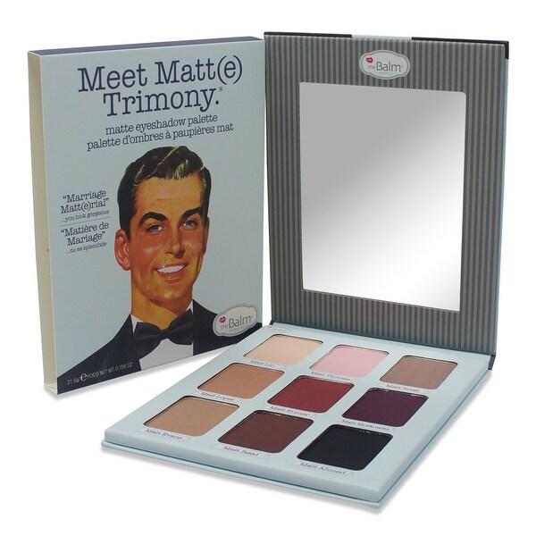 The Balm Meet MatteTrimony Eyeshadow Palette 0.756 Oz